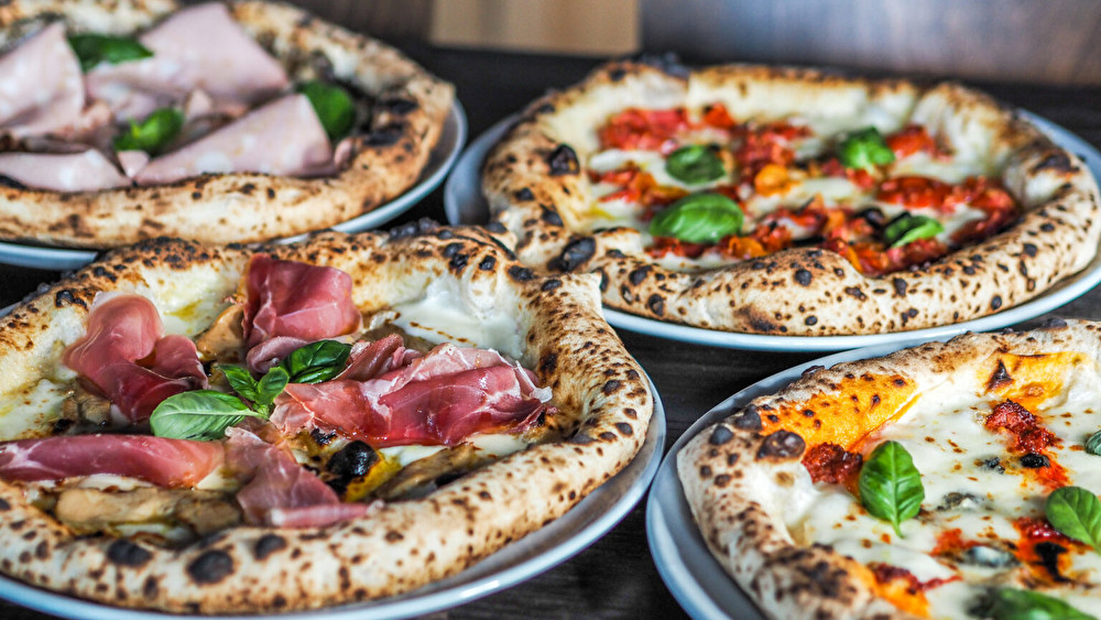 Pizzeria Lucan pizzoja.
